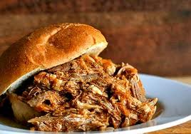 York Pulled pork sandwich